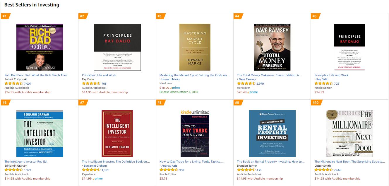 9 Underrated Investing Books